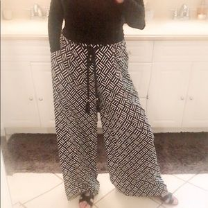 ZARA wide leg pants